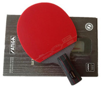 Wholesale Stiga table tennis racket table tennis blade ping pong blades hybrid wood black red double inverted rubber pingpong paddle raquet racket