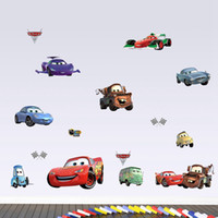 baby girl wallpaper - Cartoon Cars Child Room Decoration Wall Stickers for Kids Rooms Boys Girl Nursery Decor Wallpaper for Kids Baby Room Wall