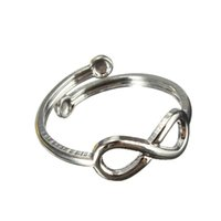 Wholesale Girls NEW Fashion Silver Foot Ring Toe Plated Retro Design Sexy Adjustable Knuckle FOR Band mid Finger Tip Rings Jewelry Gifts