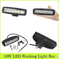 Wholesale 2pcs LM Inch W x W CREE LED Working Light Bar Work Light As Worklight Flood Light Spot Light For Boating Hunting Fishing