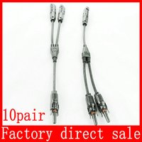 Wholesale Pair MC4 Adapter Cable Y Branch Connectors F F M And M M F For Solar Panels