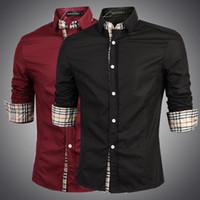 best wool shirt - 2015 new arrival best fashion cotton men s shirts long sleeve business personalized brand men shirt