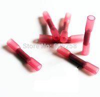 Wholesale Waterproof Wire Joints Shrink connecting Tube two lines Terminals