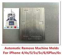 automatic gluing machine - Automatic remove cleaning residues OCA LOCA glue machine LCD CNC Metal Mold For iPhone S S C Plus S PLUS