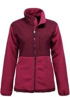 Wholesale Fashion NF Brand Women Denali Fleece Jacket Female White Pink Ribbon Winter Coats Ladies Outdoor Sports Polartec Fleece Jackets