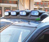 al por mayor vehículos ligeros toyota-proyectores de techo del coche combinación de luz de cúpula vehículos todoterreno luces laterales ajustables xenón lámparas de descarga Hafer M2H3456