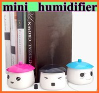 Wholesale 2015 Portable Compact Humidifier Home Air Humidifier Mini USB Office Home Bedroom Humidifier Air Purifier
