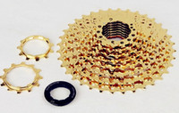 Wholesale 2015 sunshine Titanium gold color golden speed flyheel quality T mountain bike bicycel parts Cone stage dental disc