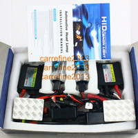 Wholesale 4sets Hid xenon kit slim ballast w v Car Headlight HID xenon Slim Black ballast kit W V hir2 Hot sell