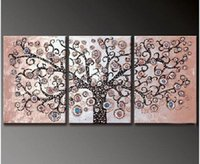 Cheap 40*50cmx3p,3 Panels , 100% Handpainted Modern Oil Painting On Canvas,Wall Art ,Top Home Decoration yttht021