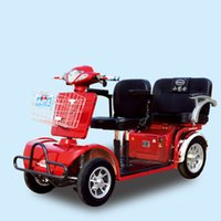 four wheel electric scooter - 2015 Hot Salt Cheap Adults Four Wheel Electric Tricycle Electric Mobility Scooter Made in China with Sunny Roof