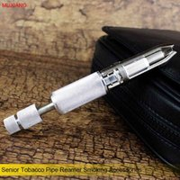adjustable reamer - MUXIANG Senior Professional Adjustable Tobacco Pipe Reamer Smoking Pipe Accessories Blades Carbon Remover with Drill fh0003