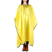 hair cutting cape - NEW Hairdressing Waterproof Hair Capes Apron Hair Cutting Cape Styling Tool for Salon Hair Care Styling Tools Cap H13844