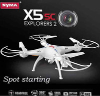 airship rc - SYMA X5SC G CH Axis Gyro RC Quadrocopter RTF Drone with HD MP Camera Headless Mode and D Eversion