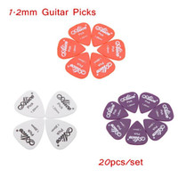 Wholesale 20pcs set mm Alice Guitar Picks Plectrum AP P Smooth ABS Design Suitable for Guitar Bass Ukelele Players Whoelsale Retail