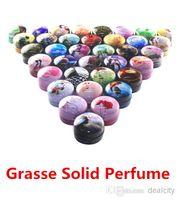 Wholesale GRASSE Solid Perfume Skin Balsam Skin Balm Fragrant Cream Resinoids Deodorant Cologne Fragrance Deodorant Body Lotion Body Cream