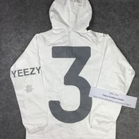 Wholesale Fall top edition Yeezus Tour Yeezy DVNO invitation season kanye west paper men windbreaker jacket