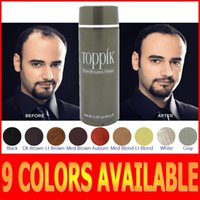 Wholesale Toppik Hair Building Fiber for Thinning hair products g colors available