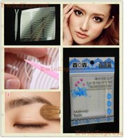 Wholesale 480Pairs Packs X New Slim Adhesive Double Eyelid Tape Makeup Fork Beauty Tool Retail