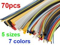 alloy tubing - Hight Quality Sizes Colors Assortment Polyolefin H type Heat Shrink Tubing Tube Sleeving Wrap Wire Cable Kit A5