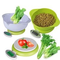 Wholesale Digital Kitchen Scale g g LCD Food Diet Balance Weight Digital LCD Kitchen Scale with Containers Weight Tool