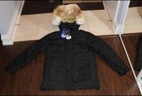bay pictures - Hot sale ARCTIC BAY NVNAUVT PARKA real pictures Canada brand ARCTIC BAY men down coats with fur hoody