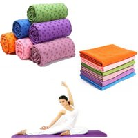 Wholesale Yoga Mat Cover Yoga Towel Yoga Mat Non slip Yoga Mats for Fitness Yoga Blanket Plum Blossom Straight Line