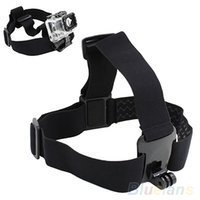 Wholesale Head Strap Mount Belt Elastic Headband For GoPro GO PRO HD Hero Camera VHA