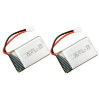 Wholesale 2pcs Original JJRC H5C Battery V mAh Lipo Battery for SYMA X5 X5C JJRC H5C RC Quadcopter RM2344