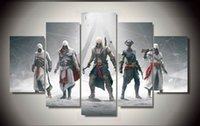 assassin poster - Framed Printed Game assassins creed Painting children s room decor print poster picture canvas F