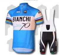 bianchi clothes - 2015 bianchi Cycling Jerseys Sets Cool Bike Suit Bike Jersey Breathable Cycling Short Sleeves Shirt Bib Shorts Mens Cycling Clothing