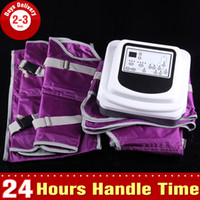 slimming sauna suits - Air Pressure Slimming Suit Sauna Blanket Detox Lymphatic Drainage Pressotherapy Beauty Machine for Home or Spa Use