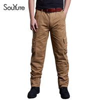 Wholesale 2016 Spring Mens cargo pants Milltary Army Overalls Pants Outdoor Tactical Casual sweatpants relax fit trousers Size