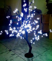 192pcs LEDs led cherry tree - LED Artificial Cherry Tree Light LED Christmas Lamp LEDs m quot Height Indoor or Outdoor Use Drop Shipping