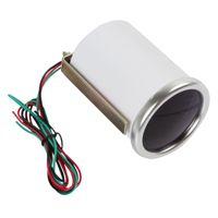 Wholesale 2pcs quot mm Degrees Celsius Car Motor Indicator Oil Temp Gauge With Led Display CEC_525