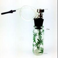 Wholesale Quality Mini Hookah Mini Smoking Pipe Glass Pipe Water Pipe Small Shisha Fashion Popular pattern New style