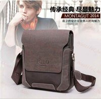 Wholesale Special offer Men genuine leather messenger bags fashion famous brands oxford polo bags new arrived