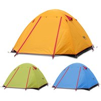 Wholesale Naturehike NH Waterproof Outdoor Camping Tent Person Double Layer Portable Ultralight Season with Aluminium Alloy Tent Pole Y0957