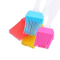 Wholesale High Temperature Resistant Silicone Barbecue Brush Baking Tools BBQ Brush Oil Brush Cooking Tools