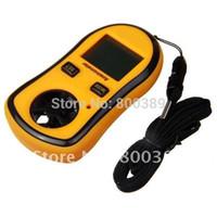 Wholesale Digital Pocket Anemometer Air Wind Speed Meter Thermometer Scale Gauge Thermometer electronic anemometer GM8908