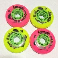 athletic roller - Ruffy Skates Wheels Rose Color High Quality Roller Inline Wheels Athletic Roller Skating Wheels