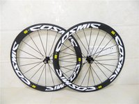 Wholesale 60mm clincher Carbon wheels Road Bike Wheel Carbon bike Wheelset carbon clincher bike wheels mm C alloy brake surface
