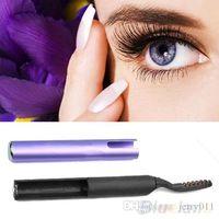 Wholesale Portable Pen Style Electric Heated Makeup Eye Lashes Long Lasting Eyelash Curler V81