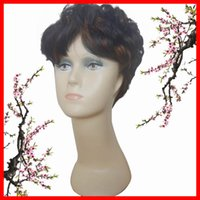 Wholesale Hot Selling Sythethic Wigs Mix Color Party Wigs Hair Wigs Short Curly Hair Wigs
