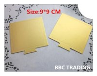 base mouldings - Size cm Holding Your Cake Square Cake Mould Tool Gold Cake Base Board of Bakeware Cake Tool