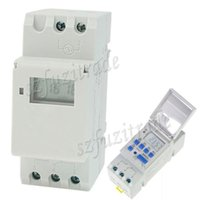 Wholesale 12V V V V V V A Weekly Electronic Programmable Digital LCD Display Timer Switch Time Relay Control AHA00135