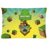 Wholesale Hot Game Minecraft Pillowcase Cover x30 Inch Two Side Print Style