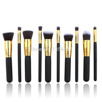 benefit beauty kits - 10pcs Professional Brushes for Makeup Foundation tools Korean Cosmetics hand to Make up brush Set benefit face for beauty women