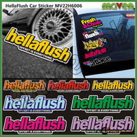 Cheap hellaflush PVC Waterproof Auto car windshield decals SPEED RACING Stickers For Lexus Mazda Acura Car Styling