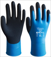 Wholesale Latex Dipped Labor Gloves Water Resistance Safety Gloves Water Proof Work glove